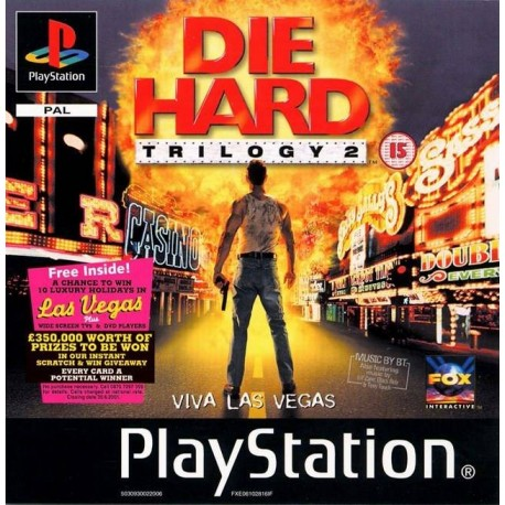 PS1 DIE HARD TRILOGY 2  (NO CASE) (USED)