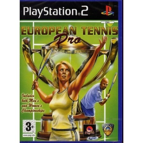 PS2 European Tennis Pro (used)