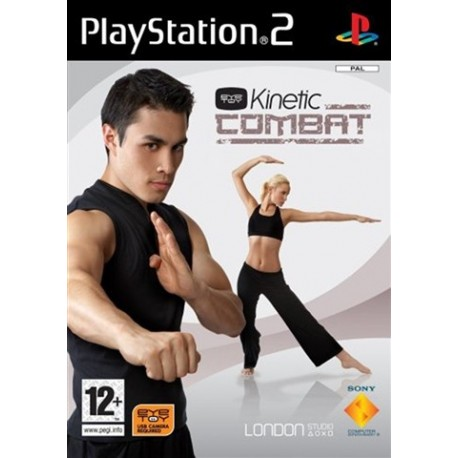 PS2 Eye Toy - Kinetic Combat (No Camera) (used)