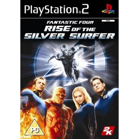 PS2 Fantastic 4 - Rise Of The Silver Surfer (used)