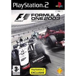 PS2 Formula One 2003 (Sony) (used)