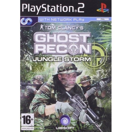 PS2 Ghost Recon Jungle Storm (used)