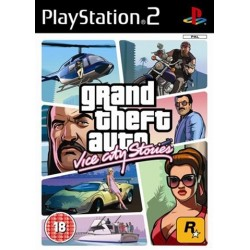 PS2 Grand Theft Auto: Vice City Stories (used)