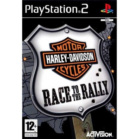 PS2 Harley Davidson: Race To The Rally (used)