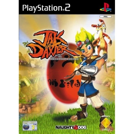 PS2 Jak And Daxter The Precursor Legacy(used)