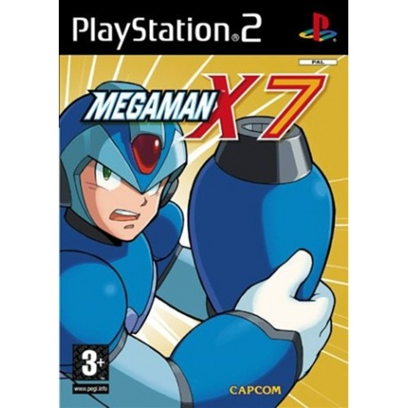 PS2 Megaman X7 (used)