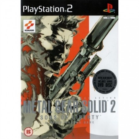 PS2 Metal Gear Solid 2 - Sons of Liberty (used)