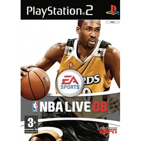 PS2 NBA Live 08 (used)