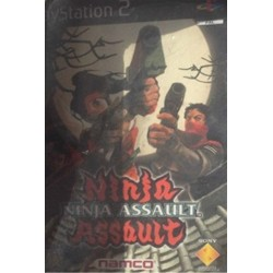PS2 Ninja Assault (GUN CON 2 COMPATIBLE) (used)