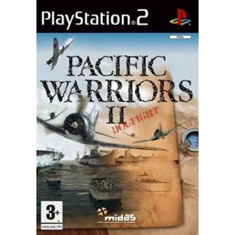 PS2 Pacific Warriors 2 - Dogfight (used)