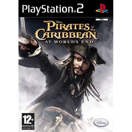 PS2 Pirates of the Caribbean - At Worlds End (used)