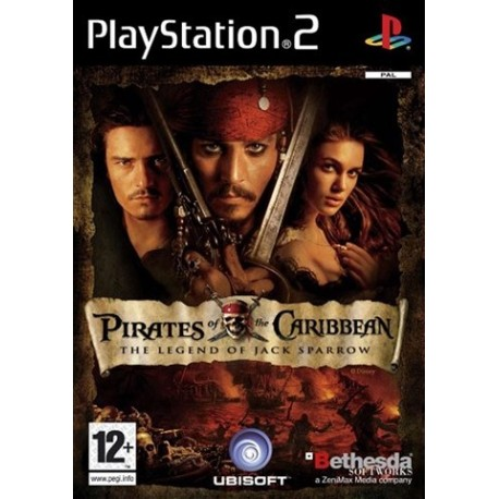 PS2 Pirates Of The Caribbean, Legend Of Jack (used)