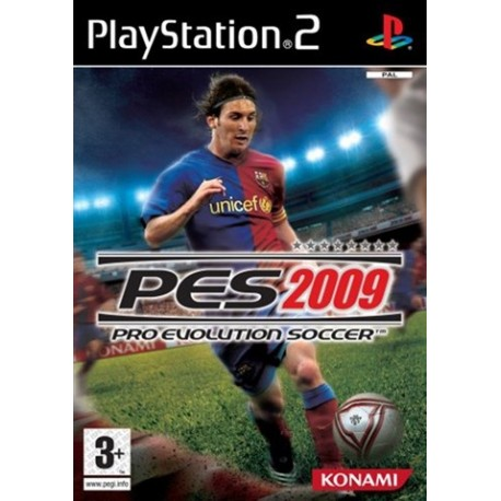PS2 Pro Evolution Soccer (PES) 2009 (used)