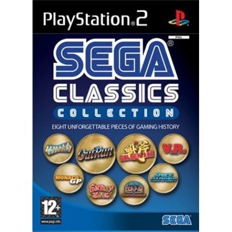 PS2 Sega Classic Collection (used)