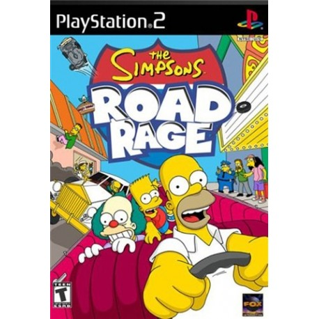 PS2 Simpsons Road Rage (used)