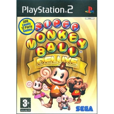 PS2 Super Monkey Ball Deluxe (used)