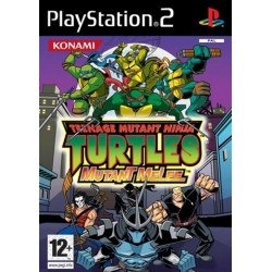 PS2 Teenage Mutant Ninja: Mutant Melee (used)