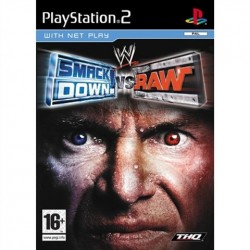 PS2 WWE Smackdown vs Raw (used)