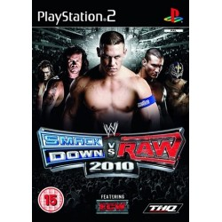 PS2 WWE Smackdown vs Raw 2010 (used)