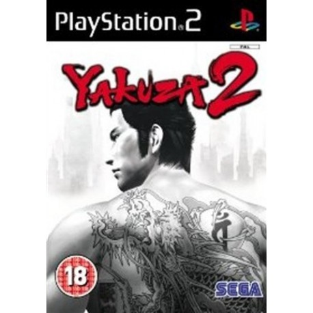 PS2 Yakuza 2 (used)