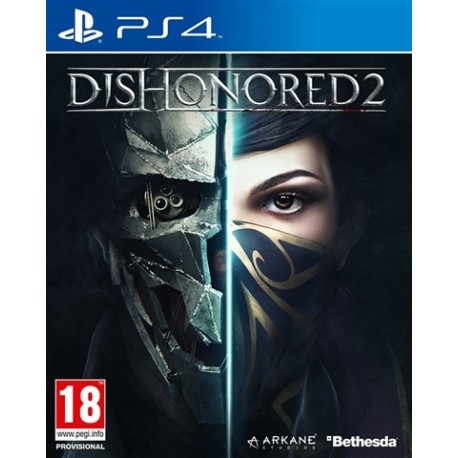 PS4 Dishonored 2 (No DLC) (new)
