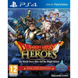 PS4 Dragon Quest Heroes: The World Tree's Woe and The Blight Below (used)