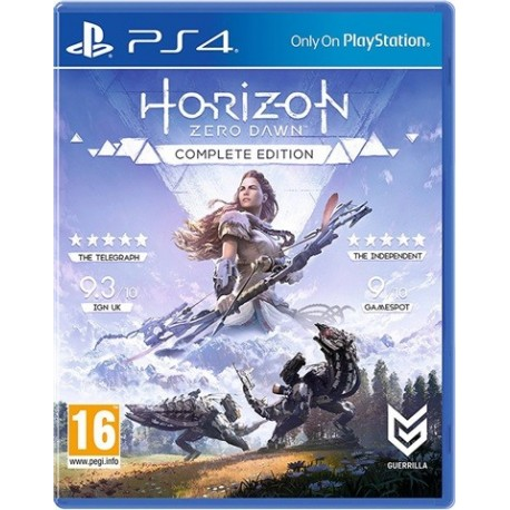 PS4 Horizon Zero Dawn: Complete Edition (new)