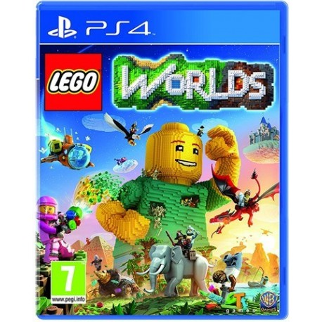 PS4 LEGO Worlds (used)