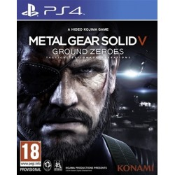 PS4 Metal Gear Solid V: Ground Zeroes (USED)