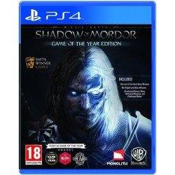 PS4 Middle-Earth: Shadow of Mordor Game Of The Year Edition (new)