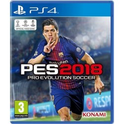 PS4 Pro Evolution Soccer 2018 (used)