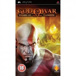 PSP God Of War: Chains Of Olympus (18) (used)