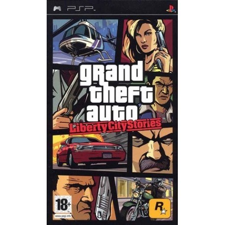 PSP Grand Theft Auto - Liberty City Stories (used)