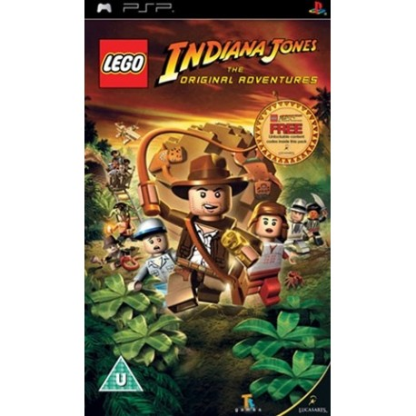 PSP Lego Indiana Jones (used)
