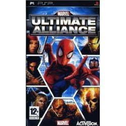PSP Marvel Ultimate Alliance (used)