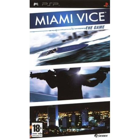 PSP Miami Vice: The Game (18) (used)