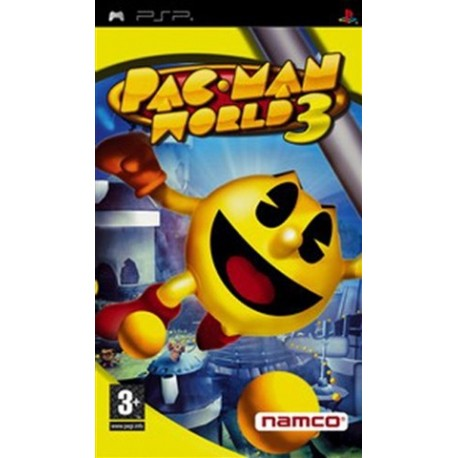 PSP Pac Man World 3 (used)