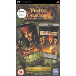 PSP Pirates...Dead Mans Chest/Black Pearl (used)