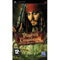 PSP Pirates Of The Caribbean, Dead Mans... (used)
