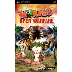PSP Worms Open Warfare (used)
