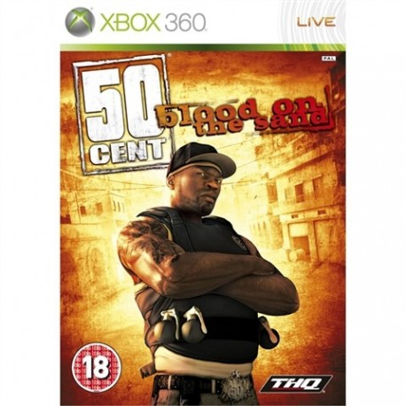 50 Cent: Blood On The Sand (18) (used) X360