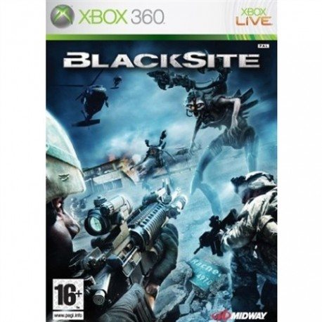 Blacksite: Area 51 (used) X360