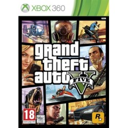 Grand Theft Auto V (5) *2 Disc* (used) X360