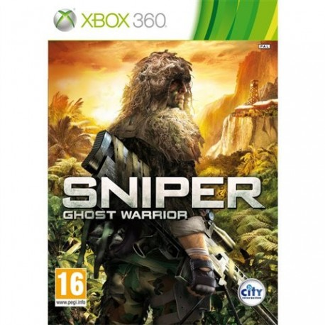 Sniper, Ghost Warrior (used) X360