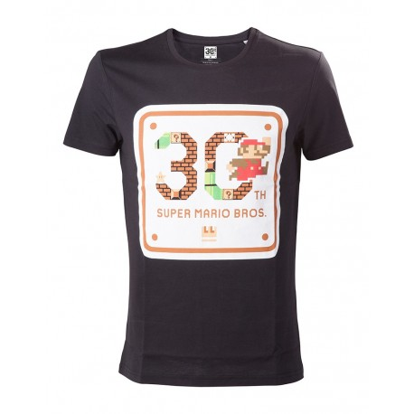 NINTENDO - SUPER MARIO BROS. 30TH ANNIVERSARY T-SHIRT SIZE XL (TS500201NTN-XL)