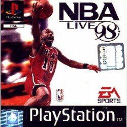 PS1 NBA live 98 (USED)