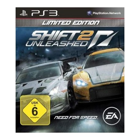 PS3 Need For Speed Shift 2 Unleashed Limited Edition (used)