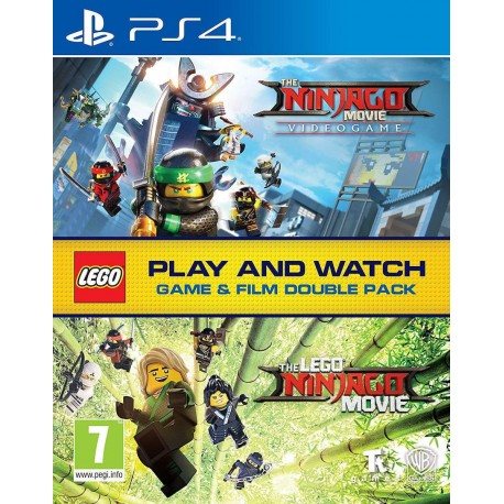 PS4 The LEGO Ninjago Movie Video Game (Film Double Pack) (new)