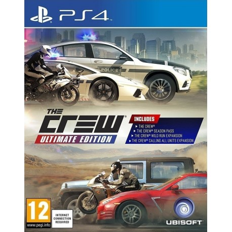 PS4 The Crew Ultimate Edition (new)