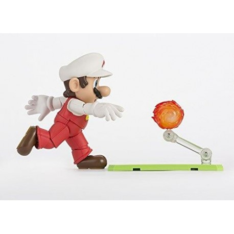 SUPER MARIO BROS. FIGUARTS - FIRE MARIO ACTION FIGURE